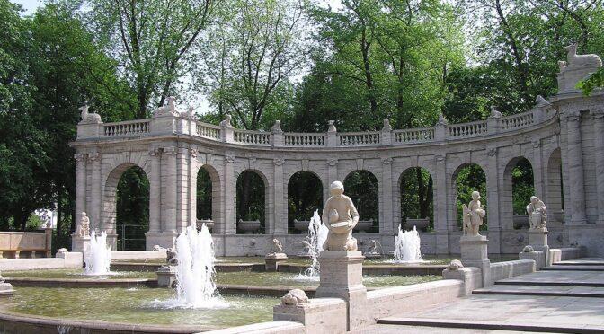 Märchenbrunnen, Volkspark Friedrichshain